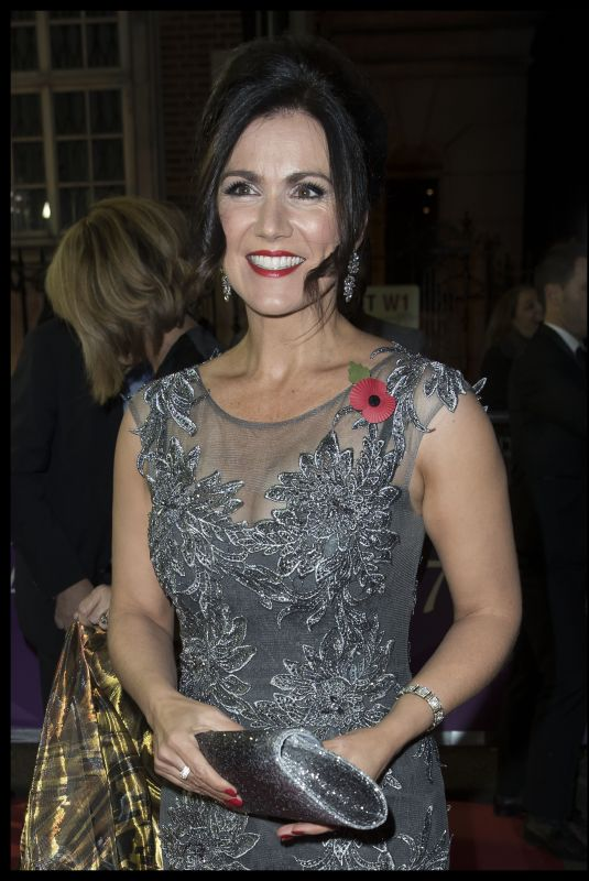 SUSANNA REID at Pride of Britain Awards 2017 in London 10/30/2017