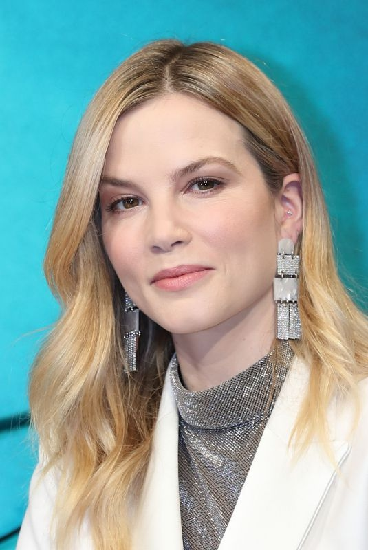 SYLVIA HOEKS at Bade Runner 2049 Press Conference in Tokyo 10/23/2017