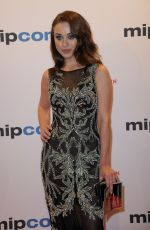 TAISIYA VILKOVA at Mipcom Opening Cocktail in Cannes 10/16/2017