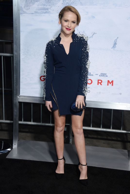 TALITHA BATEMAN at Geostorm Premiere in Los Angeles 10/16/2017