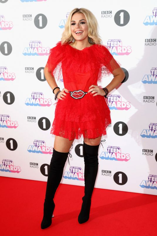 TALLIA STORM at BBC Radio 1 Teen Awards 2017 in London 10/22/2017