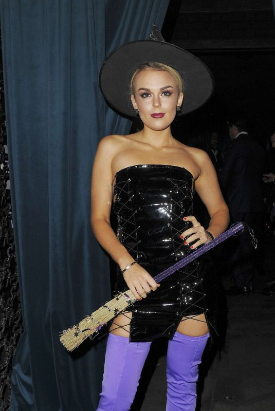 TALLIA STORM at Velocity Black Halloween Party in London 10/27/2017