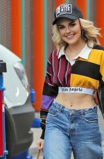 TALLIA STROM Leaves MTV Studios in London 10/04/2017