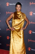 TAMRON HALL at 5th Annual Save the Children Illumination Gala in New York 10/18/2017
