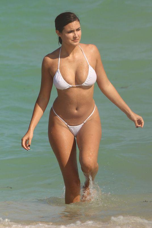TAO WICKRATH in Bikini at a Beach in Miami 10/19/2017
