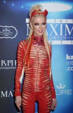 TARA REID at 2017 Maxim Halloween Party in Los Angeles 10/21/2017