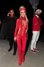 TARA REID in Red Devil Costume Arrives at Maxim Halloween Party 10/21/2017