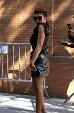 TARAJI P. HENSON Arrives at The View in New York 10/06/2017