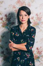 TATIANA MASLANY for W Magazine at TIFF 2017