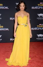 TESSA THOMPSON at Thor: Ragnarok Premiere in Los Angeles 10/10/2017