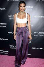 TEYANA TAYLOR at Prettylittlething by Kourtney Kardashian Launch in Los Angeles 10/25/201