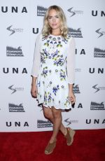 THEODORA MIRANNE at UNA VIP Screening in New York 10/04/2017