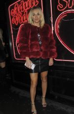 TIFFANY WATSON at Badoo Date of the Dead Party in London 10/26/2017
