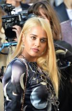 TOMMY GENESIS at Chanel Fashion Show at Paris Fashion Week 10/03/2017
