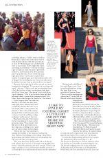 TONI GARRN in Hello Fashion Magazine, November 2017