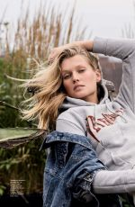 TONI GARRN in Hello Fashion Monthly, November 2017 Issue