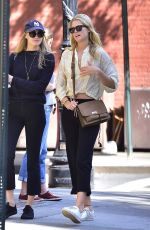 TONI GARRN Out and About in New York 10/07/2017