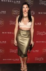 TRACE LYSETTE at People's Ones to Watch Party in Los Angeles 10/04/2017