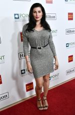 TRACE LYSETTE at Point Honors Gala in Los Angeles 10/07/2017