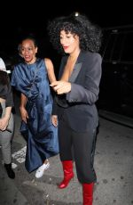 TRACEE ELLIS ROSS Arrives at Drake's Birthday Party in West Hollywood 10/23/2017