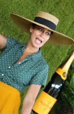 TRACEE ELLIS ROSS at 8th Annual Veuve Clicquot Polo Classic in Los Angeles 10/14/2017