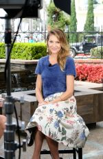 TRICIA HELFER Promotes Her TV Show Lucifer in Los Angeles 10/02/2017