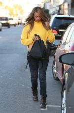 TYRA BANKS at Cakemix in West Hollywood 10/05/2017
