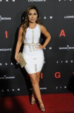 ULDOUZ WALLACE at Jigsaw Premiere in Los Angeles 10/25/2017