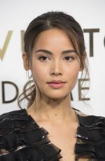 URASSAYA SPERBUND at Louis Vuitton's Boutique Opening at Paris Fashion Week 10/02/2017