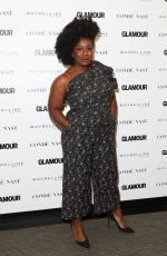 UZO ADUBA at Glamour's The Girl Project Celebrating International Day of the Girl in New York 10/11/2017