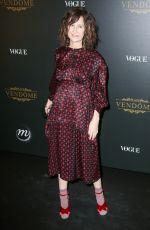 VALERIE LEMERCIER at Vogue Party at Paris Fashion Week 10/01/2017