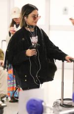 VANESSA HUDGENS at LAX Airport in Los Angeles 10/27/2017