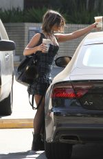 VANESSA HUDGENS Out for Coffee in Los Angeles 10/08/2017