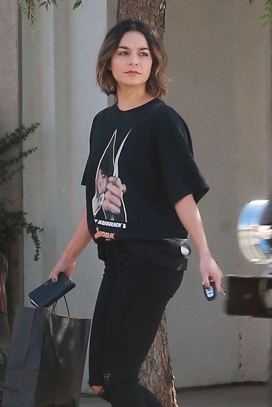 VANESSA HUDGENS Out in Studio City 10/09/2017