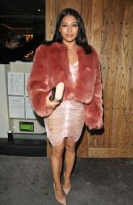 VANESSA WHITE Arrives at Her 28th Birthday Party in London10/28/2017