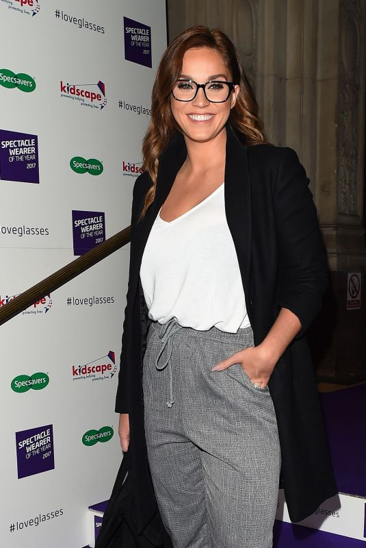VICKY PATTISON at Spectacle Wearer of the Year in London 10/10/2017