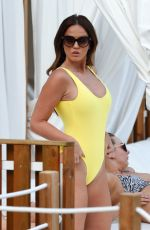 VICKY PATTISON in Swimsuit at BH Mallorca Pool Party 10/05/2017