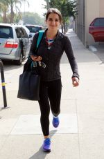 VICTORIA ARLEN Arrives at Dancing with the Star Practice Studio in Los Angeles 10/29/2017
