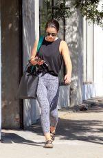 VICTORIA ARLEN Leaves Dance Practice in Los Angeles 10/15/2017