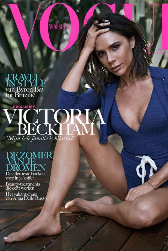 VICTORIA BECKHAM for Vogue Magazine, Netherlands August 2017