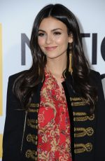 VICTORIA JUSTICE at Jane Premiere in Hollywood 10/09/2017