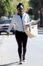 VIOLA DAVIS Out and About in Toluca Lake 10/22/2017