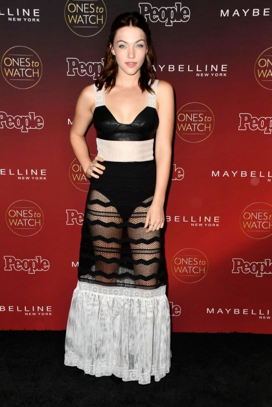 VIOLETT BEANE at People's Ones to Watch Party in Los Angeles 10/04/2017