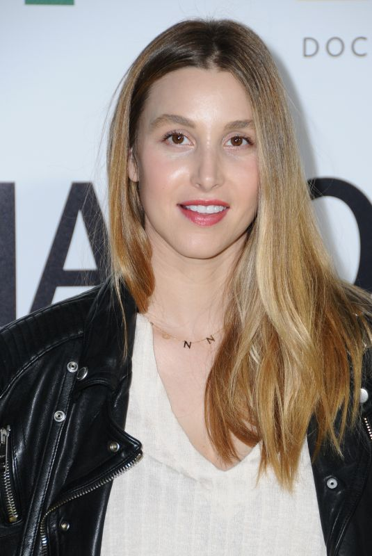 WHITNEY PORT at Jane Premiere in Hollywood 10/09/2017