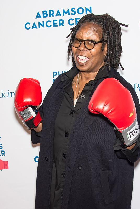 WHOOPI GOLDBERG at Philly Fights Cancer: Round 3 in Philadelphia 10/28/2017