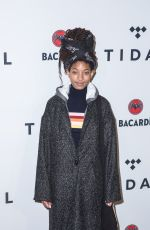 WILLOW SMITH at Justin Tranter and Glaad Present Believer Spirit Day Concert in Los Angeles 01/18/2017