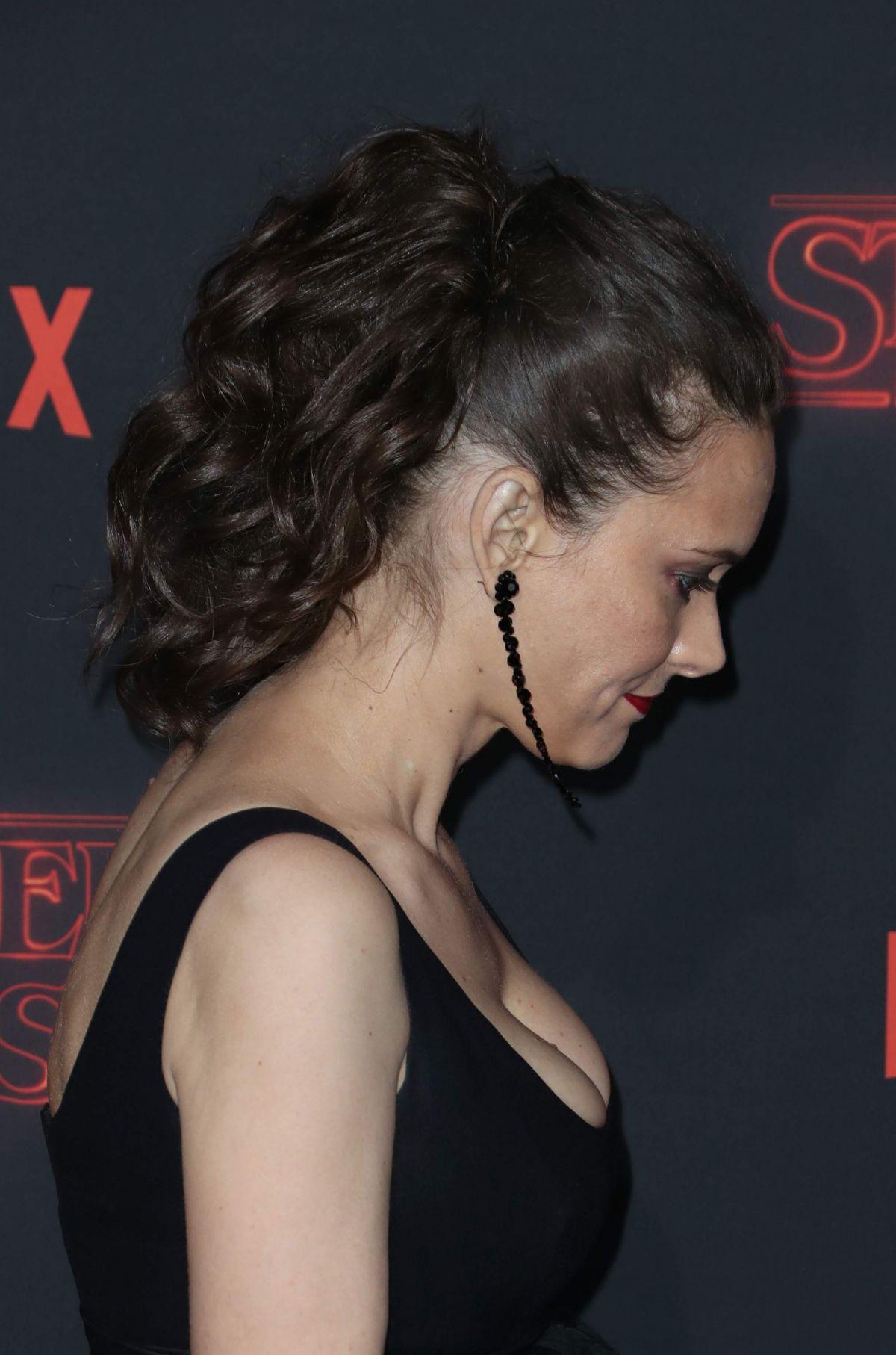 WINONA RYDER at Stranger Things Season 2 Premiere in Los ...