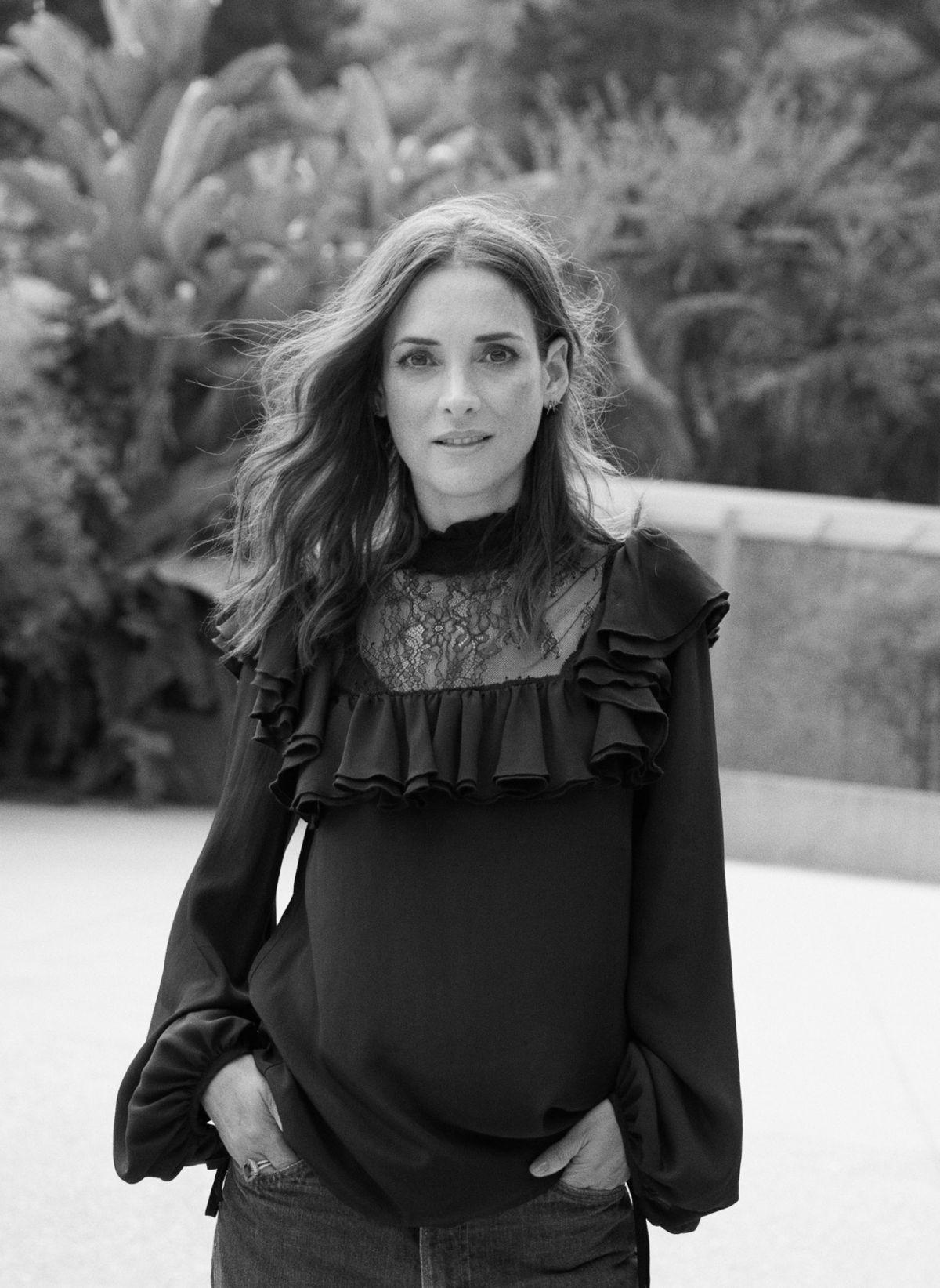WINONA RYDER in Marie Claire Magazine, November 2017 ...