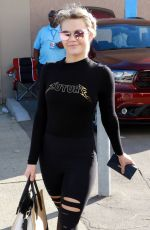 WITNEY CARSON Arrives at DWTS Rehersal in Los Angeles 10/22/2017