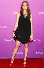 YANINA ZU at Isina Global Gala in Los Angeles 10/10/2017